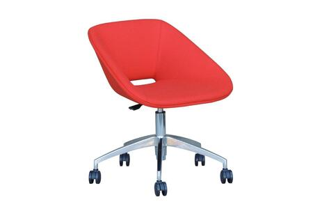 Grader 200-BT-RD-ALU-REL Office Chair in Red Eco