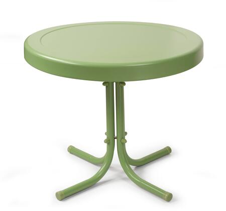 Crosley Furniture GRIFFITH CO1011AGR Outdoor Patio Table Green, Main Image