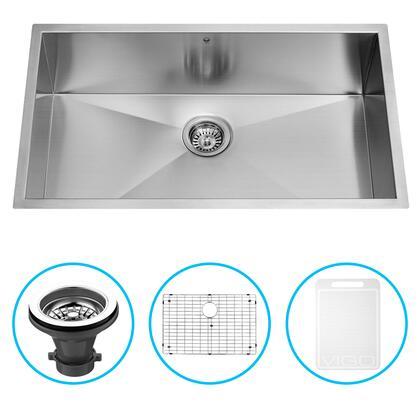 Vigo VG3019BK1 Sink, VG3019BK1 1 B