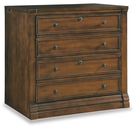 Hooker Furniture Cherry Creek 25870416 File Cabinet Brown, Main Image