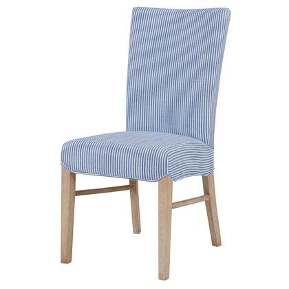 268239-637-N Milton Fabric Chair Set of 2  in Blue