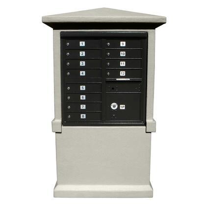 Qualarc Estateview EVMCTALLNP Mailboxes, EVMC TALL NP