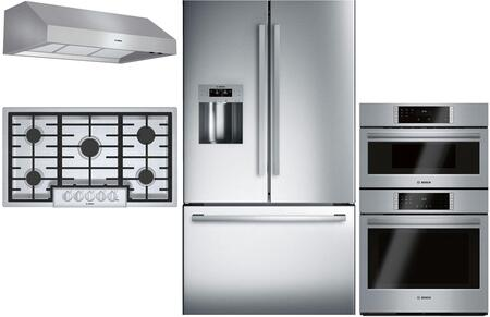 Bosch  902688 Kitchen Appliance Package Stainless Steel, Main Image