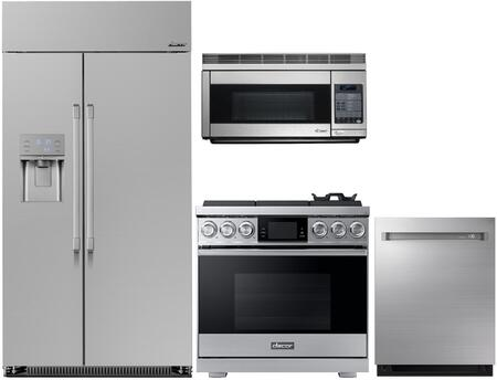 Dacor  1072558 Kitchen Appliance Package Stainless Steel, main image