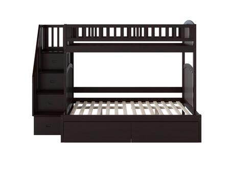 Atlantic Furniture Westbrook AB65741 Bed Brown, AB65741