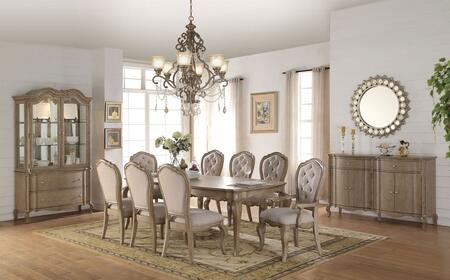 Acme Furniture 6605011set Appliances, Dining Room Set With China Cabinet