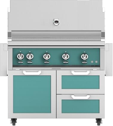 Hestan 851989 Grill Package Green, Main Image