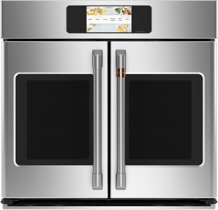 Cafe Professional CTS90FP2NS1 Single Wall Oven Stainless Steel, CTS90FP2NS1 Smart Built-In Convection French-Door Single Wall Oven