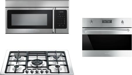 Smeg 1054489 Kitchen Appliance Package & Bundle Stainless Steel, main image