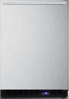 Summit  SCFF53BXSSHHIM Compact Freezer Stainless Steel, Main Image