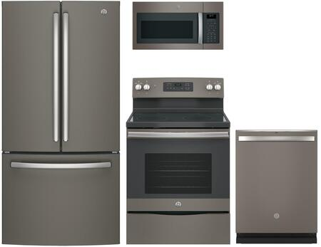 GE  845564 Kitchen Appliance Package Slate, Main image