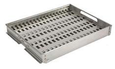Coyote CCHTRAY Charcoal & Starter Stainless Steel, 1