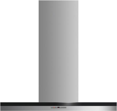 Fisher Paykel Contemporary HC36DTXB2 Wall Mount Range Hood Stainless Steel, Front view