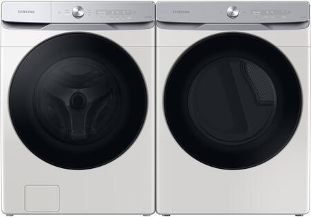 Samsung  1396929 Washer & Dryer Set White, 1