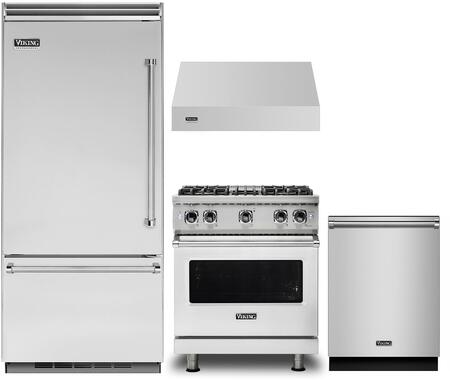 Viking 1125314 Kitchen Appliance Package & Bundle Stainless Steel, main image