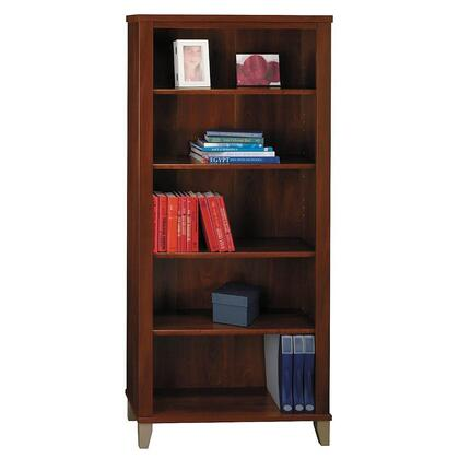 Bush Furniture Somerset WC81765 Bookcase Brown, Image 1