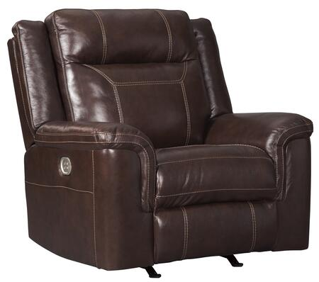 Signature Design by Ashley Wyline 7170113 Recliner Chair Brown, Main Image