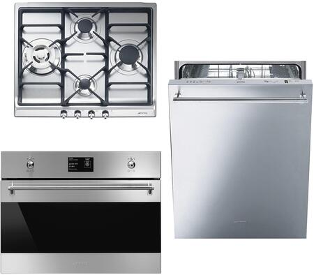 Smeg 890402 Kitchen Appliance Package & Bundle Stainless Steel, 1