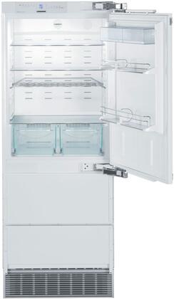 Liebherr  HC1550 Bottom Freezer Refrigerator Panel Ready, HC1550 Interior View