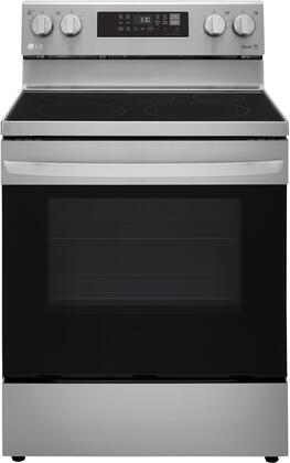 LG  LREL6323S Freestanding Electric Range Stainless Steel, LREL6323S Front