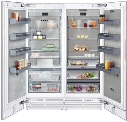Gaggenau 400 Series 1383798 Column Refrigerator & Freezer Set Panel Ready, Main image