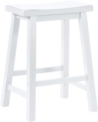 Powell Color Story 270430 Bar Stool White, Main Image