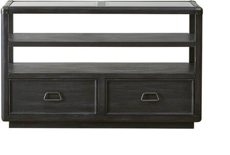 Pulaski Vintage Tempo 402257 Sofa Table Black, Sofa Table