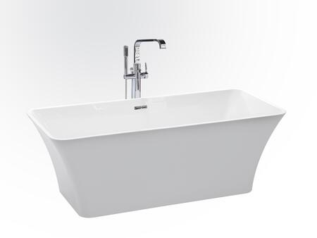 Valley Acrylic Affordable Luxury ETHER67 Bath Tub White, Main Image