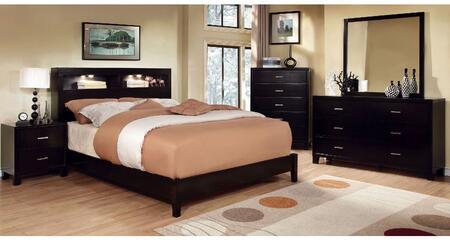 Furniture of America Gerico I CM7290EXKBDMCN Bedroom Set, Main Image