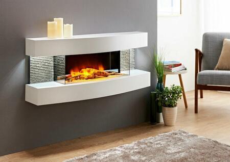 Evolution Fires Miami Curve EFMC Fireplace, 1