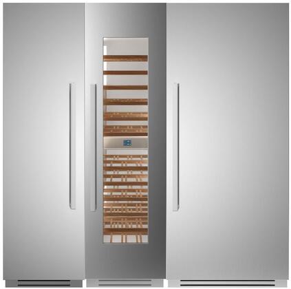 Bertazzoni  1309149 Column Refrigerator & Freezer Set Stainless Steel, 1