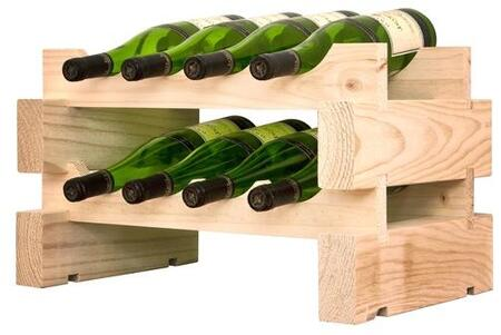 Vinotemp EP447208 Wine Rack, 2 x 4 natural grande