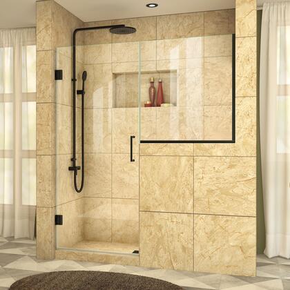 DreamLine  SHDR2424243409 Shower Door , UnidoorPlus Shower Door 39 30D 30BP 09