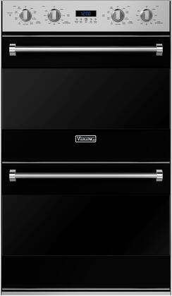 Viking 3 Series RVDOE330BK Double Wall Oven Black, In Black