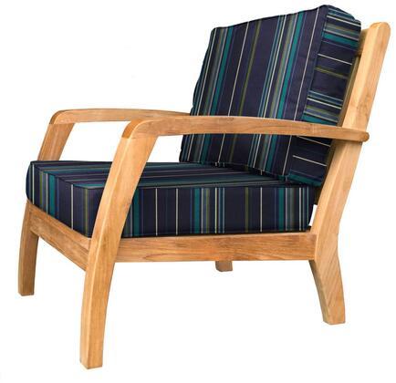 Douglas Nance Somerset DN2301STANTONLAGOON Patio Chair, DN2301STANTONLAGOON Main Image