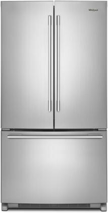 Whirlpool  WRFA35SWHZ French Door Refrigerator Stainless Steel, Main Image