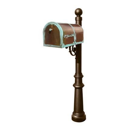 Qualarc Provincial MB3000PATLP804BZ Mailboxes, MB 3000 PAT LP804 BZ