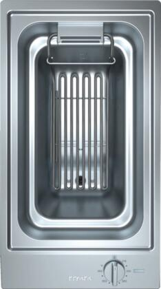 """Miele CombiSet CS1411F Electric Cooktop Stainless Steel, Miele CS1411F 12"""" Electric Boiler and Fryer in Stainless Steel"""