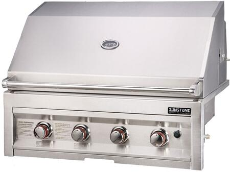 Sunstone Sunstone SUN4BNG Natural Gas Grill Stainless Steel, Main Image