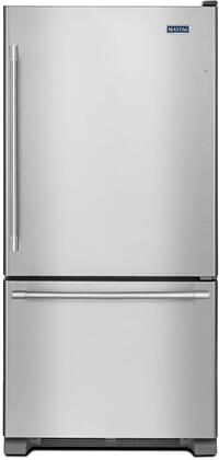 Maytag  MBF2258FEZ Bottom Freezer Refrigerator Stainless Steel, Main Image
