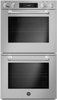 Bertazzoni Master MAST30FDEXT Double Wall Oven Stainless Steel, MAST30FDEXT Master Series Double Wall Oven