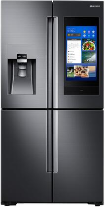 Samsung RF28N9780SG Fingerprint Resistant Black Stainless 4-Door Flex French Door Refrigerator With Family Hub