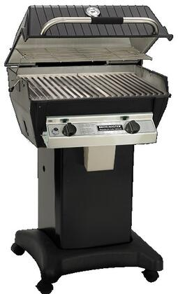 27″ Infrared Series Freestanding Liquid Propane Grill with 695 sq. in. Grilling Surface  1 Infrared Burner  1 Blue Flame Burner  Warming Rack  and