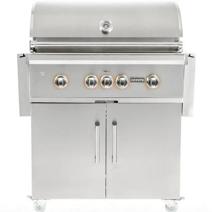 C2SL36LP 36″ S-Series Freestanding Liquid Propane Grill with 875 sq. in. Cooking Surface  304 Stainless Steel Construction  RapidSear Burner  and