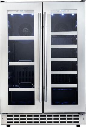 Danby Silhouette DBC047D3BSSPR Beverage Center Stainless Steel, Main Image