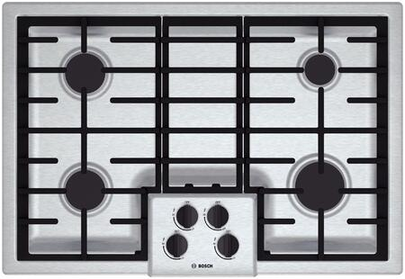 Bosch 500 Series NGM5055UC Gas Cooktop Stainless steel, 1