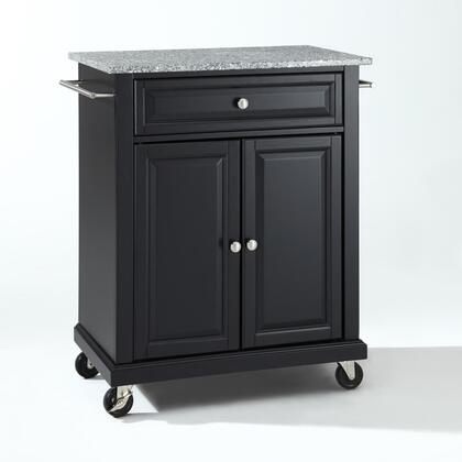 Crosley Furniture Compact Kitchen KF30023EBK Kitchen Cart Black, KF30023EBK W1