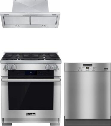 Miele  888248 Kitchen Appliance Package Stainless Steel, main image