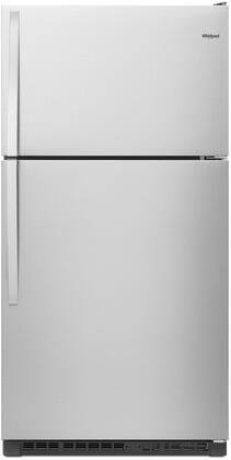 Whirlpool  WRT311FZDZ Top Freezer Refrigerator Stainless Steel, Main Image