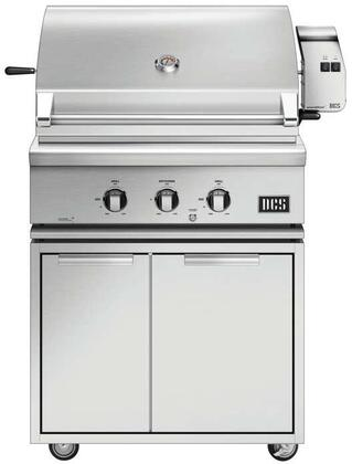 DCS 7 Series 848093 Liquid Propane Grill Stainless Steel, Main Image